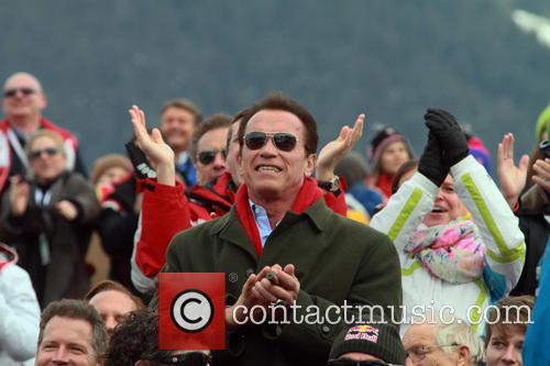 Arnold Schwarzenegger VIP Spectators
