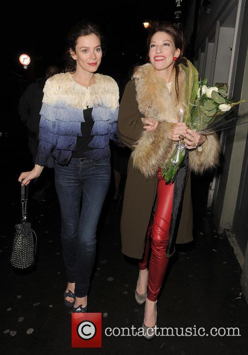 Anna Friel at Soho House