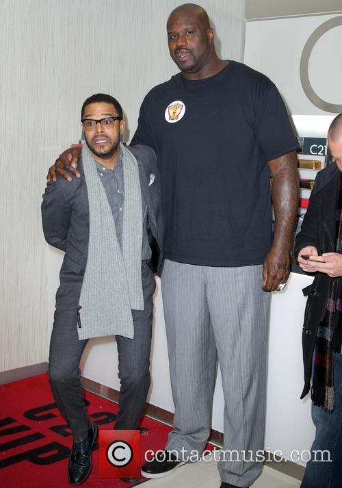 Maxwell and Shaquille O'neal 3