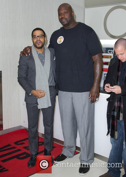 Maxwell and Shaquille O'neal 6