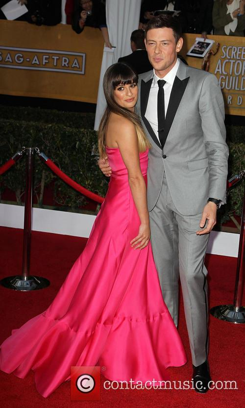 Lea Michele and Cory Monteith 5
