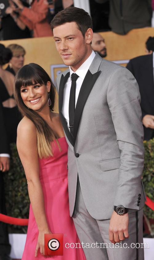 Cory Monteith, Lea Michele, Screen Actors Guild