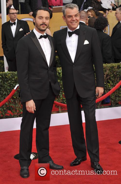 Danny Huston and Jack Huston 2