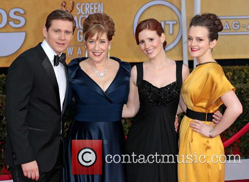 Allen Leech, Phyllis Logan, Amy Nuttall and Sophie Mcshera 1