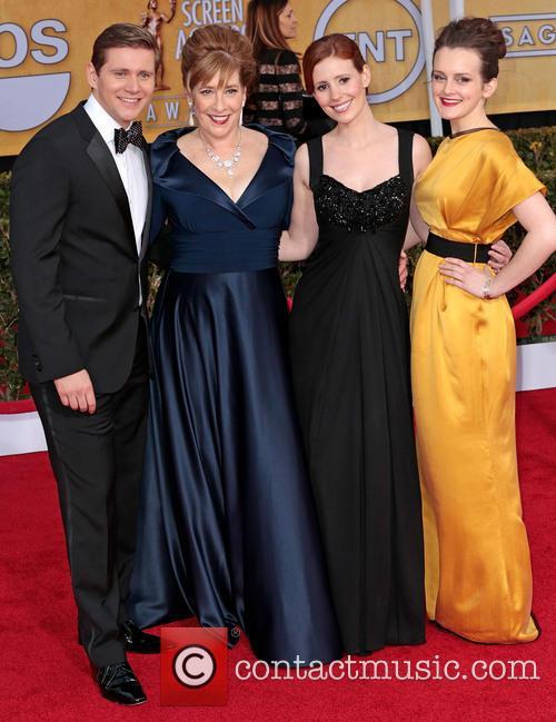 Allen Leech, Phyllis Logan, Amy Nuttall and Sophie Mcshera 2