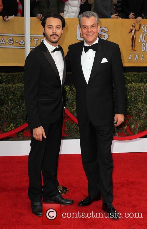 Danny Huston and Jack Huston 1