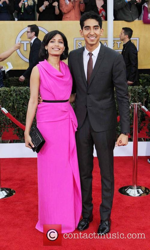 Freida Pinto and Dev Patel 6