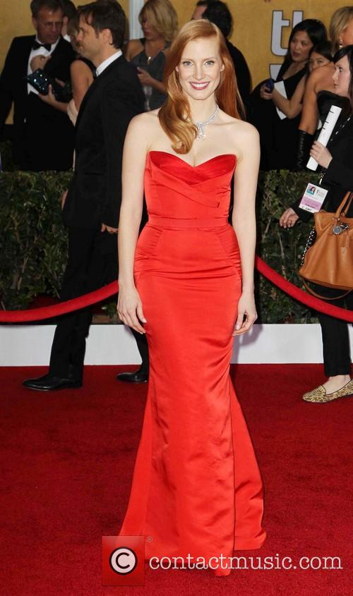 jessica chastain 19th annual screen actors guild sag 3472185