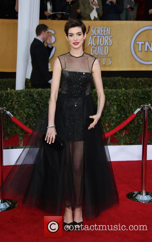Anne Hathaway, Shrine Auditorium, Screen Actors Guild