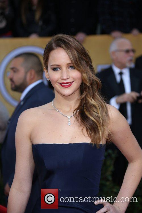 Jennifer Lawrence, Shrine Auditorium, Screen Actors Guild