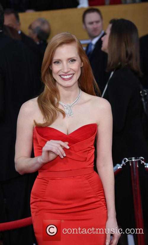 jessica chastain 19th annual screen actors guild sag 3472514