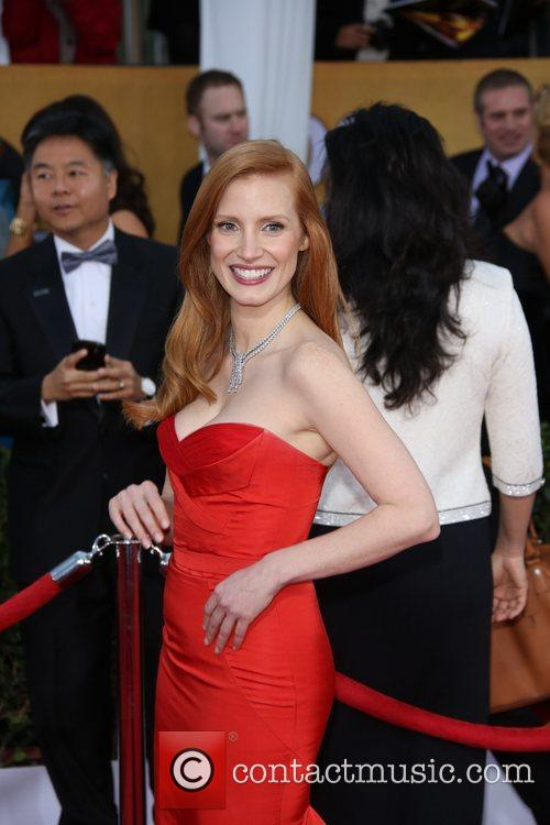 Jessica Chastain, Shrine Auditorium, Screen Actors Guild
