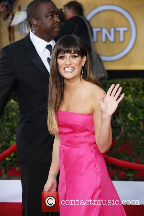 Lea Michele, Shrine Auditorium, Screen Actors Guild