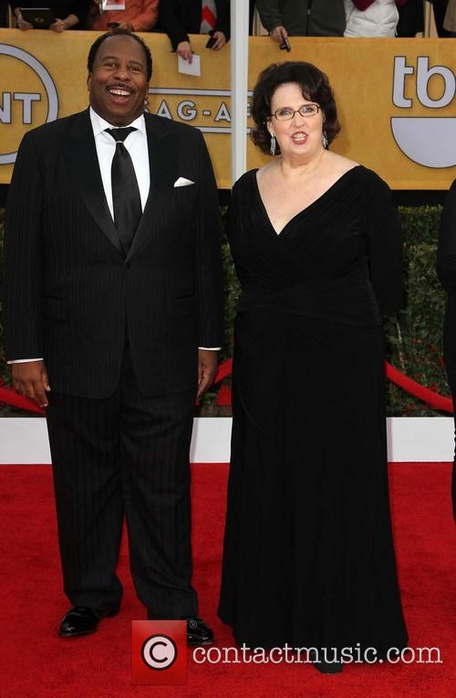 Leslie David Baker and Phyllis Smith 1