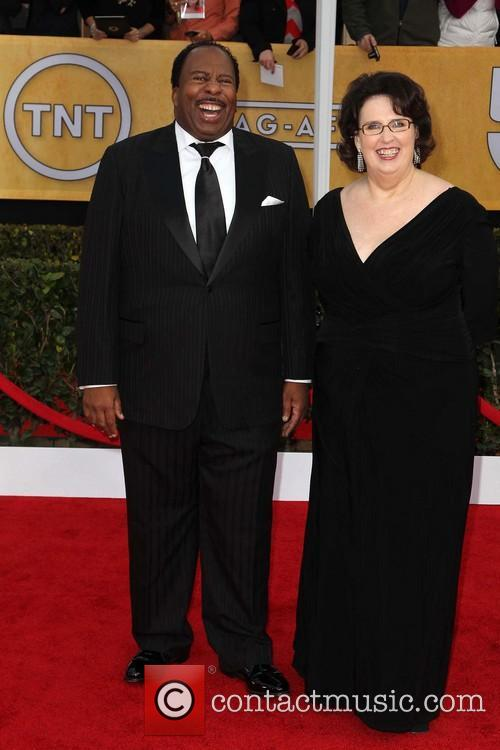 Leslie David Baker and Phyllis Smith 2