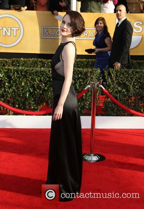 michelle dockery 19th annual screen actors guild sag 3472367