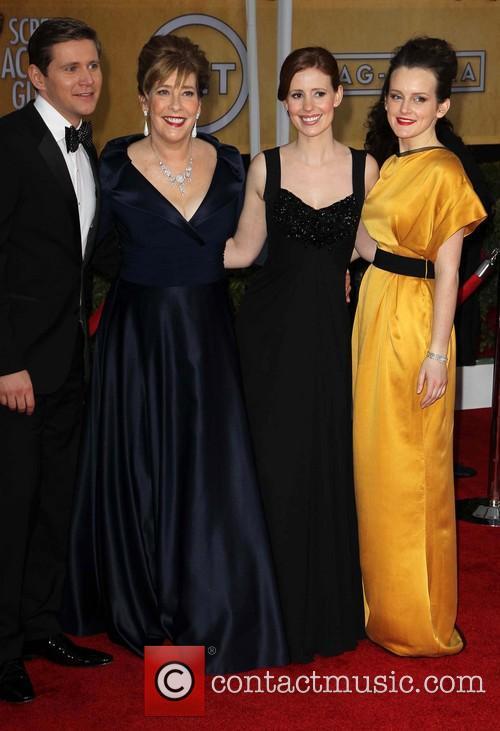 Phyllis Logan, Allen Leech, Amy Nuttall and Sophie Mcshera 1