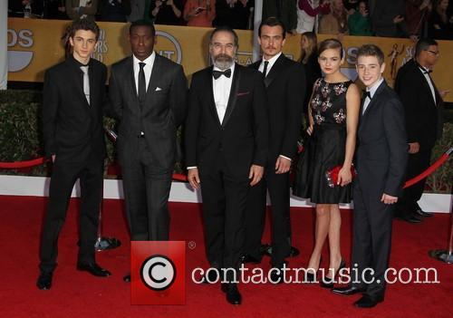 Timothee Chalamet, M, Y Patinkin, Rupert Friend, Morgan Saylor and Jackson Pace 2