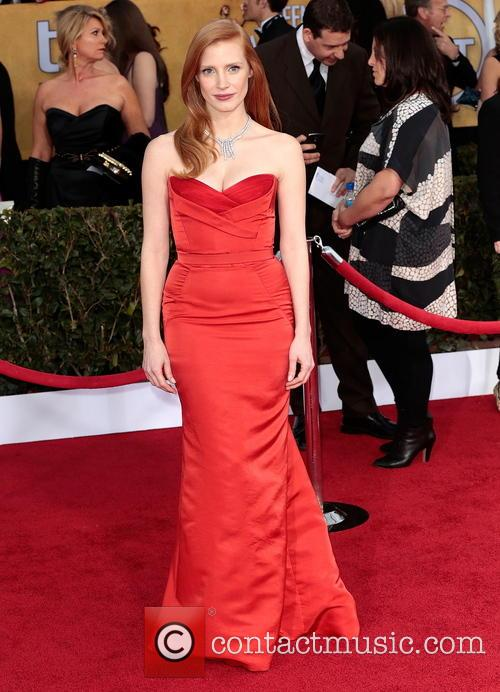 jessica chastain 19th annual screen actors guild sag 3472797