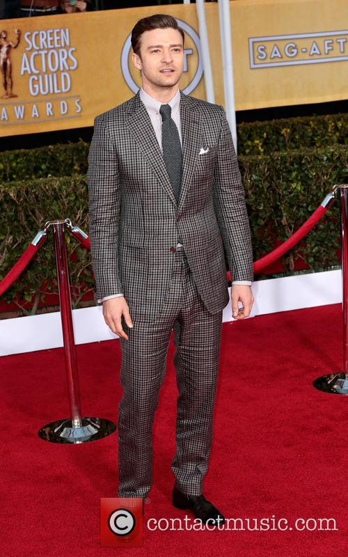 Justin Timberlake at the SAGs 2013