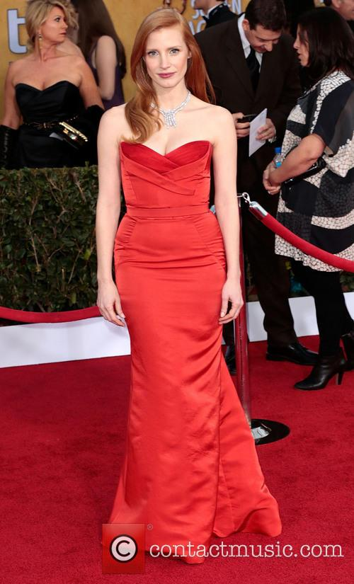 jessica chastain screen actors guild awards 3470980