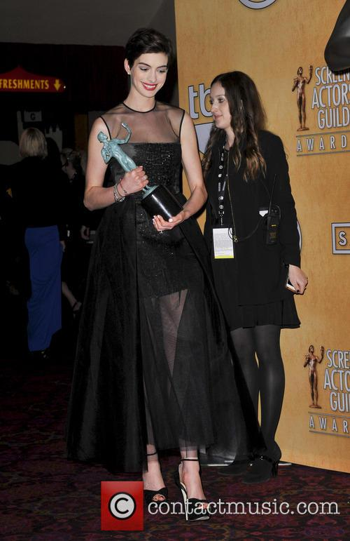 anne hathaway 19th annual screen actors guild sag 3471866