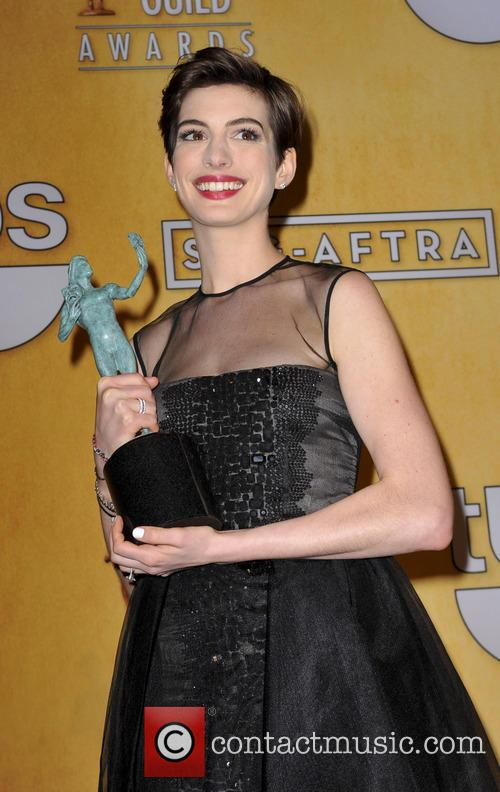 Anne Hathaway at the SAG Awards 2013