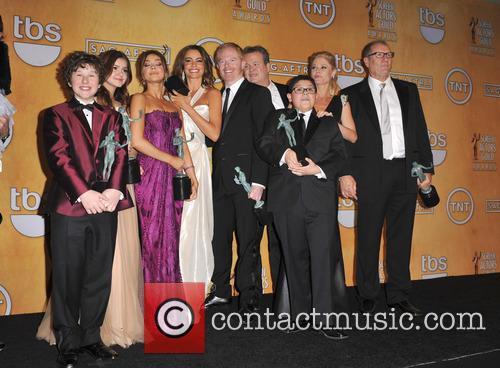 Modern Family cast at the 2013 SAG Awards