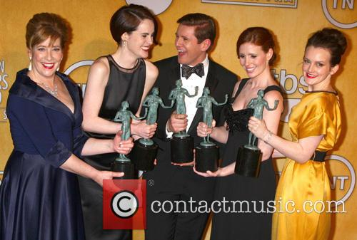 Actress Penelope Wilton, Actress Michelle Dockery, Actor Allen Leech, Actress Amy Nutall and Actress Sophie Mcsheara 9