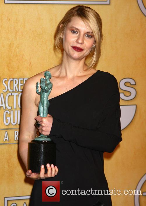 Claire Danes wins at the SAG awards