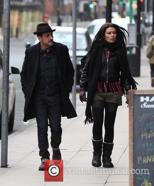 Chris Gascoyne and Alison King out and about