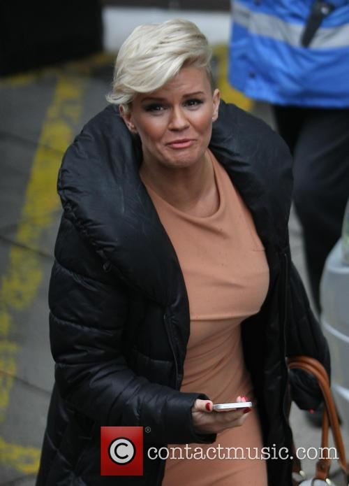 kerry katona celebrities at the itv studios 3473041