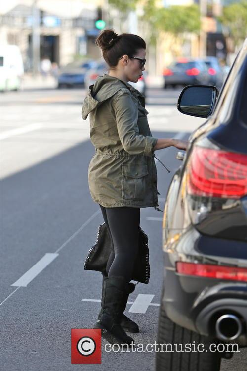 Jenna Dewan-Tatum and Channing Tatum seen leaving the...