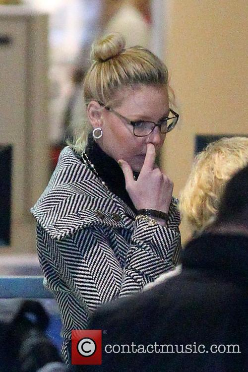 Katherine Heigl at LAX Airport