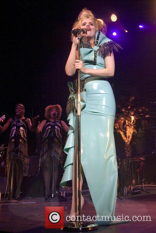 Paloma Faith playing a headline gig at the...