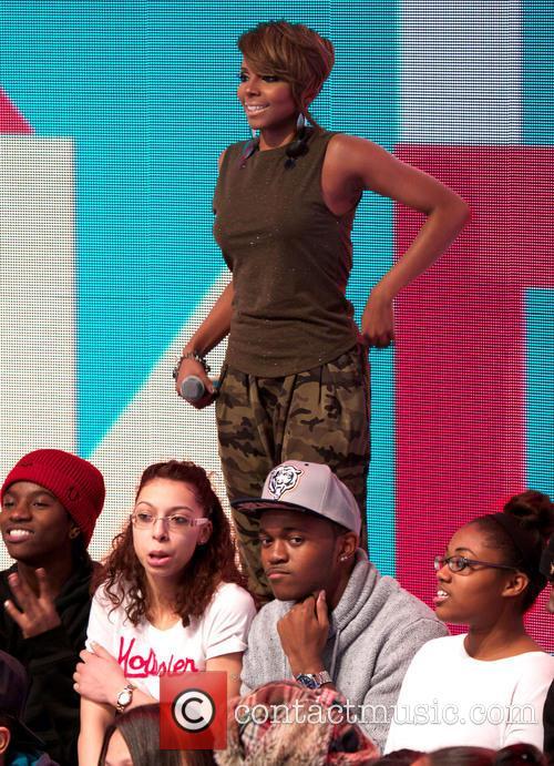 Mary J Blige On 106 & Park TV...