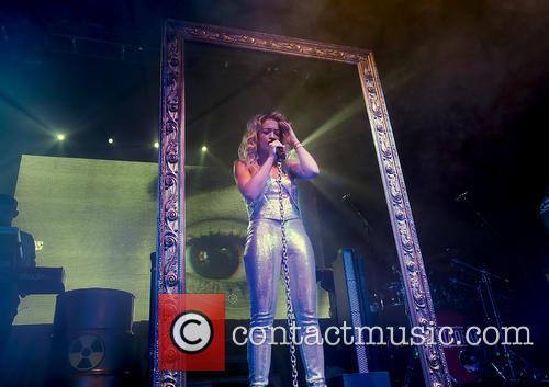 Rita Ora Performing at Manchester Academy