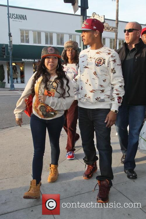 T.i. and Tameka 'tiny' Cottle 2