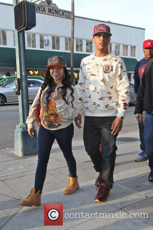 T.i. and Tameka 'tiny' Cottle 6