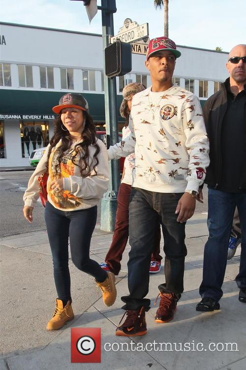 T.i. and Tameka 'tiny' Cottle 10