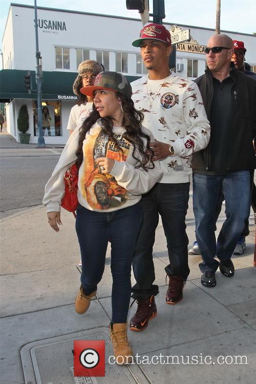 T.i. and Tameka 'tiny' Cottle 11