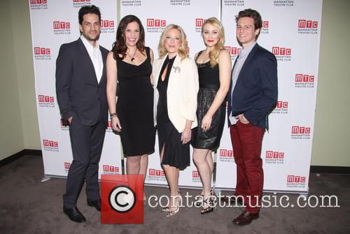 Will Swenson, Lindsay Mendez, Sherie Rene Scott, Betsy Wolfe and Jonathan Groff 3