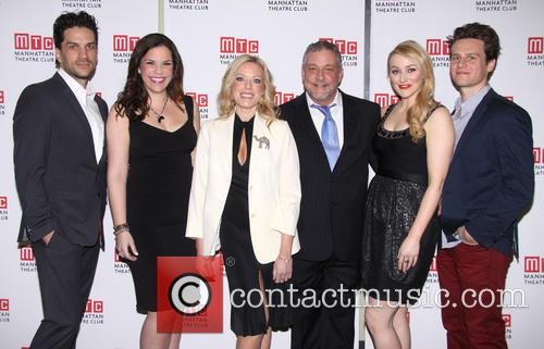 Will Swenson, Lindsay Mendez, Sherie Rene Scott, Michael Bush, Betsy Wolfe and Jonathan Groff 4