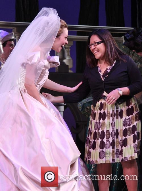 laura osnes maria roca an on stage marriage proposal at 3474059