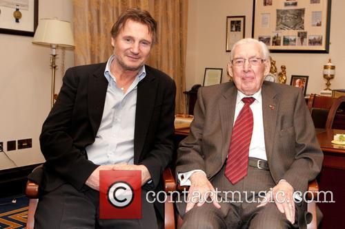 Liam Neeson and Ian Paisley