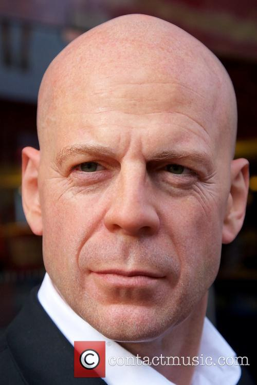 Bruce Willis wax figure unveiling at Madame Tussauds