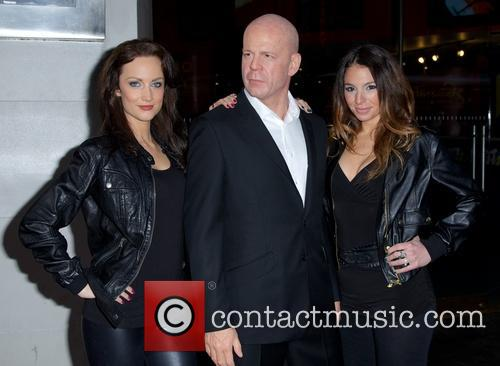 Bruce Willis and Models 9