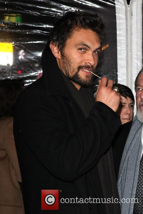 Jason Momoa and Walter Hill 2