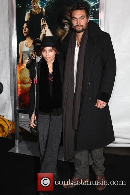 Zoe Kravitz and Jason Momoa 2