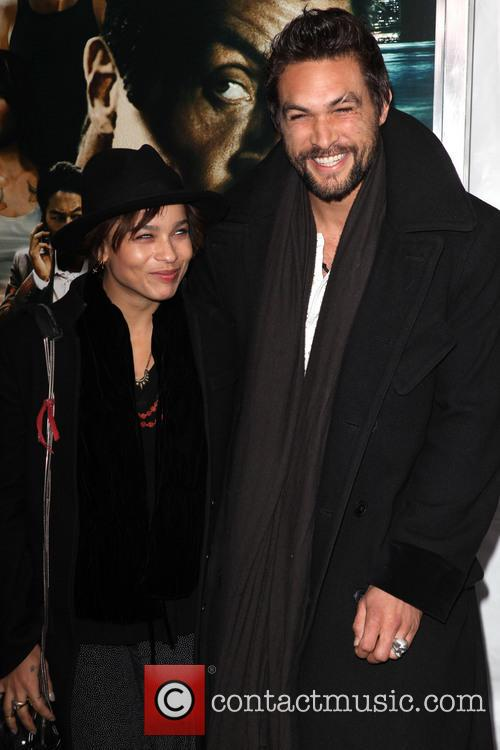 Zoe Kravitz and Jason Momoa 4
